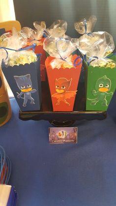 PJ Masks Popcorn Boxes
