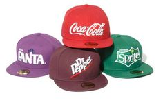 The Drink Logo Collection by New Era x The Coca-Cola Company is Simply Fresh #drinking trendhunter.com