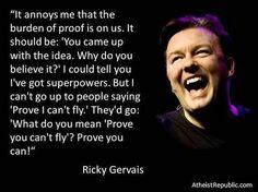 .... Ricky Gervais ...