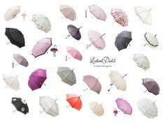 #Umbrella #wedding design from #danish designer Lisbeth Dahl Copenhagen #paraply