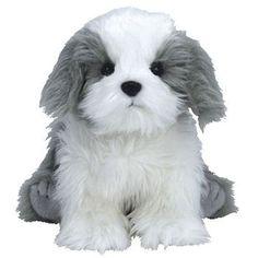 TY Beanie Baby - FURSTON the Sheepdog (6 inch)