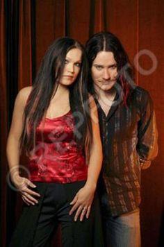 Tarja and Tuomas