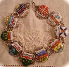 provincial shields [segmented Canada bracelet]