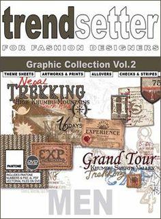 Trendsetter - Men Graphic coll. Vol 2 { + DVD} Graphic Design