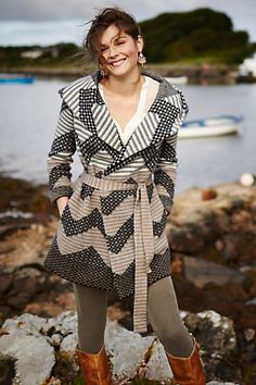 Love this chevron striped sweater coat #anthrofave http://rstyle.me/n/sjypdnyg6