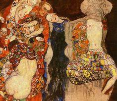 Gustav Klimt - The Bride, 1917,18