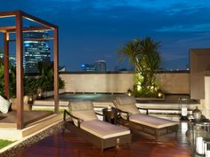 Exterior of the Royal Suite, spacious inside & out. Siam Kempinski Hotel Bangkok, Thailand  www.islandescapes.com.au