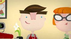 Smart Ticket on #Vimeo #2d #cartoon_like