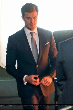 Jamie Dornan - and the suit makes it that much better.