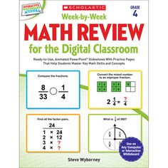 WEEK BY WEEK GR 4 MATH REVIEW FOR