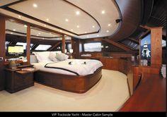 Master Cabin Yacht F1 Viewing #Monaco #Yacht #LuxuryF1 2017