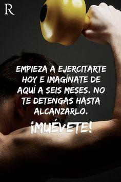 Empieza a ejercitarte hoy e imagínate en seis meses. No te detengas hasta alcanzarlo. #Muevete #Fitspiration #motivation #fitness #deportes https://www.facebook.com/RipleyPeru/app_542517512494659