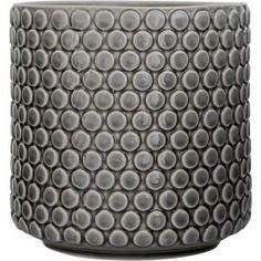 Stoneware bloempot grijs - Bloomingville