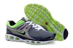 huge selection of 570ed d2e68 Nike Air Max Tailwind 2010 Men s Running Shoe 386405 003 Grey Green