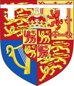 Shield of Arms of Charles, Prince of Wales