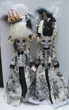 living dead doll custom marie antoinette by Rach-Hells-Dollhaus on DeviantArt