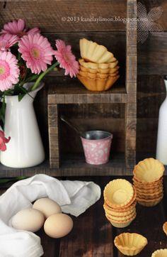 Kanela y Limón: Tartaletas de queso / Recetas para el día de la madre