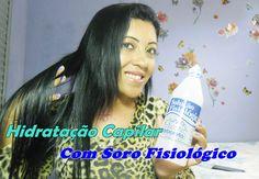 Hidratação Capilar Com Soro Fisiológico