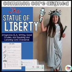 This mini unit includes all you need to do a close read about the Statue of Liberty. Lessons are project based. Students will help park rangers write a tour guide script for Statue of Liberty visitors. So fun!