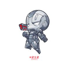 Character: WARMACHINE from Marvel Artprint on Etsy:  http://etsy.me/1RlJ9zZ