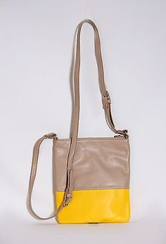 Two Tone Crossbody Purse #PGPackingList #PrivateGallery