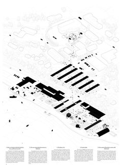Menéndez . Termenón . Pérez . Re-Meaning . Europan 14 . Alta (3) Architecture Panel, Architecture Visualization, Architecture Drawings, Architecture Design, Urban Mapping, Archi Design, Presentation Layout, Architectural Section, Arches