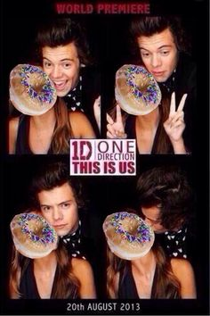 """""""How does the one direction fandom deal with jealousy?"""" Food is always the answer."""