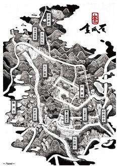 【設計大人物】Nuomi 的插畫旅行地圖---金瓜石 | 大人物