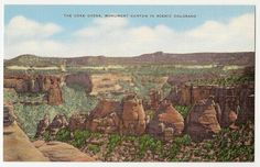 The Coke Ovens Monument Canyon in Scenic Colorado by Postcardigans, $3.00