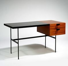 Pierre Paulin CM141 Desk designed in 1953 for Thonet, France