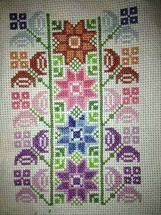 Cross Stitch Floss, Free Cross Stitch Charts, Cross Stitch Borders, Cross Stitch Alphabet, Cross Stitch Designs, Cross Stitch Patterns, Leather Embroidery, Embroidery Motifs, Cross Stitch Embroidery