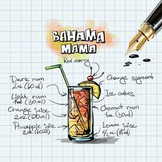 Happy Thursday! We've got a Bahama Mama with your name on it....