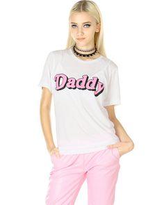 Danielle Guizio DADDY LUVS ME TEE at Shop Jeen | SHOP JEEN