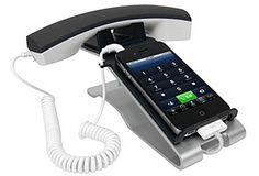 WEB LUXO - Eletrônicos: Docks transformam iPhone em telefone convencional.