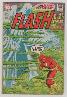 Flash Vol 1 176 Silver Age Comic Book. Flash Comic Book, Dc Comic Books, Comic Book Covers, Comic Art, Flash Comics, Dc Comics, Pulp Fiction Comics, Comics For Sale, Comics