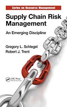 While we would always like to anticipate and prevent risk from happening, when risk events do occur being faster, flexible, and more responsive than others can make a world of difference. Supply Chain Risk Management: An Emerging Discipline gives you the tools and expertise to do just that. Available in digital format (eBook). Username & Password required for access. #distribution #supplychain #riskmanagement #operationsmanagement #warehousing #transport #logistics #storage