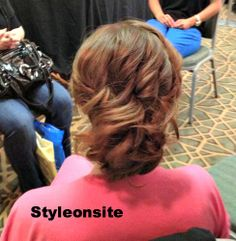curled updo, wedding hair, prom, special event, bridesmaid, bride