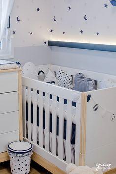Bento, Babys, Furniture, Home Decor, Marine Baby, Navy Blue, Blue Dream, Cribs, Quartos