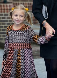 Dutch Countess Leonore (age 7) - is the third child and second daughter of Prince Constantijn and Princess Laurentien of the Netherlands