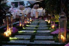 giardino lanterne e cuscini