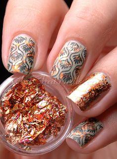 62 Best Foil Nail Art Images On Pinterest Pretty Nails Beauty