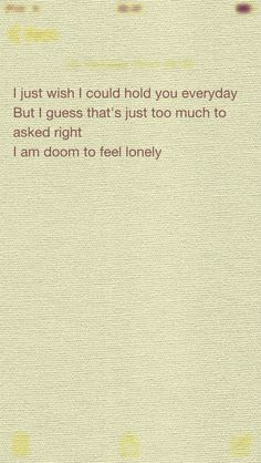 Doomed to be lonely