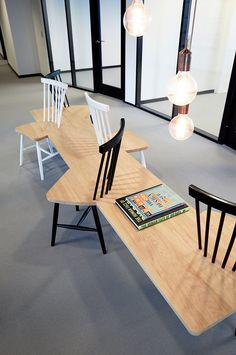 Furniture design. Meeting point. Office space. By Anni gram.