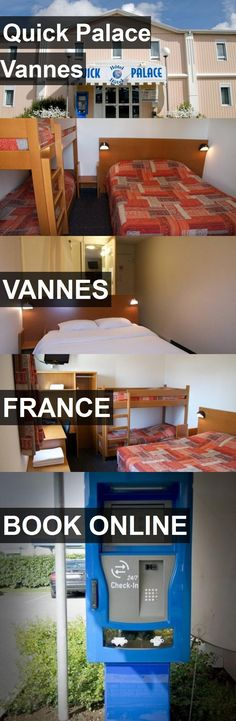 Hotel Quick Palace Vannes in Vannes, France. For more information, photos, reviews and best prices please follow the link. #France #Vannes #hotel #travel #vacation