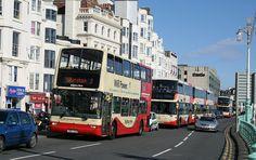Brighton bus chaos