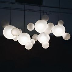 Shop SUITE NY for the Bolle Frosted Collection designed by Giopato and Coombes and more contemporary chandeliers, suspension lamps, Italian glass lighting