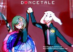Dancetale - Frisk and Asriel (Undertale AU) by Kiacii on DeviantArt
