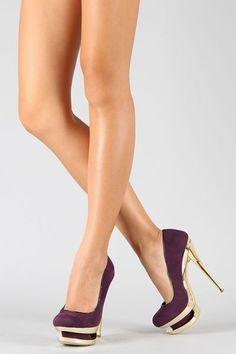 Sapato Importado Luxo Roxo