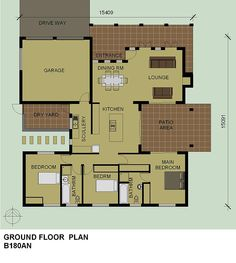 Architecture floor plans on pinterest floor plans Bali house designs floor plans
