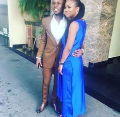 Loto Lolu and Anto appear to be getting along just fine outside the Big Brother Naija house. The two love birds Second Love, Bambam, B & B, Two By Two, Formal, News, Photos, Style, Fashion